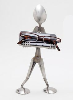 How to Recycle: Recycled Spoon and Fork as an Art