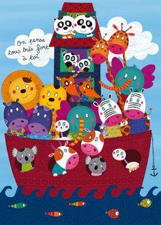 Animal Paintings, Animal Drawings, Crazy Wallpaper, Art Mignon, Art Carte, Baby Drawing, Funny Art, Cute Illustration, Preschool Crafts
