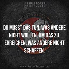 Vergrößere deine Komfort-Zone und bald ist nichts mehr für dich unmöglich. - www.AesirSports.de