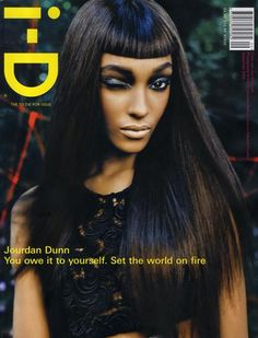 Jourdan Dunn - i-D September 2008 Cover