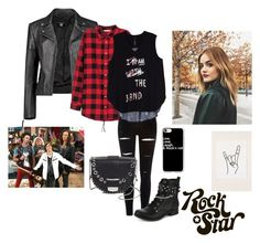 """""""Weasel rock you!"""" by aby-ocampo ❤ liked on Polyvore featuring Boohoo, H&M, River Island, Melissa McCarthy Seven7, Disney, Urban Outfitters, Delphine Delafon, Casetify and plus size clothing"""
