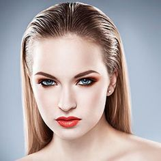 Hair goals: Sleek Wet Effect, 2015 hairstyle trends.