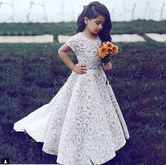 Yesbabyonline offers lovely flower girl dresses & baby flower girl dresses in all styles and colors. Visit and shop you desired Gorgeous Jewel Short Sleeves Ribbon Belt A-line Lace Flower Girl Dresses now. Princess Flower Girl Dresses, Cheap Flower Girl Dresses, Lace Flower Girls, Girls Dresses, Baby Flower, Dresses For Kids, Dresses 2016, Flower Girl Dresses Burgundy, Winter Flower Girl