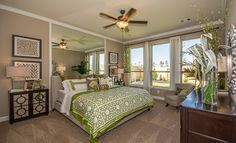 Oakhurst at Kingwood: Lakeside and Lonestar Collection - Master bedroom