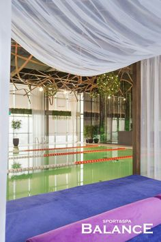 Wellness&spa Balance. Декорирование искусственными растениями. Реализация студии Iren Lakusta