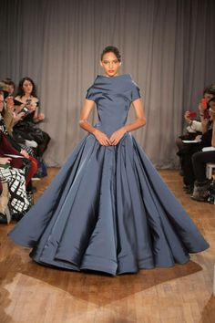 The most outrageously gorgeous gowns from NYFW 2014: Zac Posen