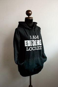 SHERLOCK Hoodie I AM SHERLOCKED hoodie by SummerIsComing on Etsy, $38.00 >>> The amount of need here is beyond measure.