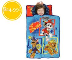 Nickelodeon Paw Patrol Toddler Nap Mat Only $14.99 (Reg. $27) - http://www.couponsforyourfamily.com/swimschool-aqua-tot-swimmer-only-5-reg-13-2/