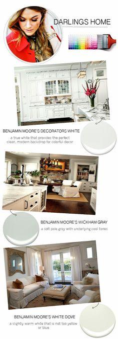 Benjamin Moore Moonlight White Paint Pinterest