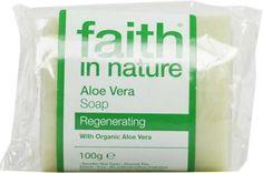 Faith In Nature Pure Vegetable Soap. Aloe Vera. 100g Bar