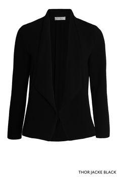 Thor Jacke Black von KD Klaus Dikrath #kdklausdilkrath #thorjacket #jacket #black #blazer #casual #chic #officeoutfit #party #kdklausdilkrath #kd #dilkrath #kd12 #outfit