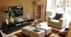 The Oakworth show home lounge