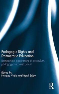 Pedagogic Rights and Democratic Education: Bernsteinian e... https://www.amazon.com/dp/1138898090/ref=cm_sw_r_pi_dp_K0KJxbMJYM83X