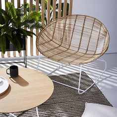 Cebu Rattan Rocking Chair Natural Rattan Rocking Chair, Bucket Chairs, Home Republic, Cebu, Occasional Chairs, Counter Stools, Hanging Chair, Wicker, Dining Chairs