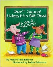 """Great book to teach the difference between tattling and informing"""