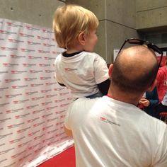 Like father like son. #TEDxThess2017