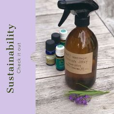 """How to make your own all-purpose cleaning spray - see full recipe and costs in our post - """"Anna's Sustainable, Refillable Cleaning Spray made with Essential Oils. Cleaning Spray, Me Clean, Spray Bottle, Cleaning Supplies, Sustainability, Purpose, Essential Oils, Anna, Essentials"""