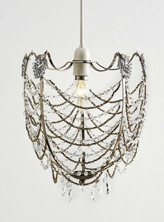 Chrome Everly Easy Fit Ceiling Light - BHS