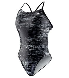 Nike Swim Onyx Storm Cut Out Tank