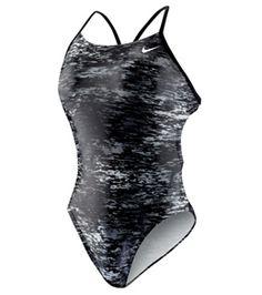 Nike Swim Onyx Storm Cut Out Tank