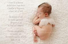 Venta Itty Bitty recién nacido bebé Angel alas por Chicabootique