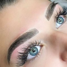 perfect-eyebrows-made-easy-with-semi-permanent-make-up - More Beautiful Me 1 Mircoblading Eyebrows, Eyebrows Goals, Eyeliner, Permanent Makeup Eyebrows, Eyebrow Makeup, Skin Makeup, Eyelashes, Flawless Makeup, Gorgeous Makeup