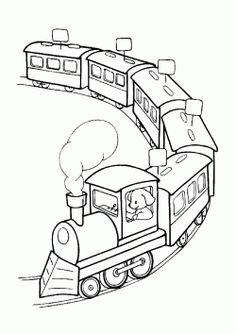 Tren Boyama Sayfası