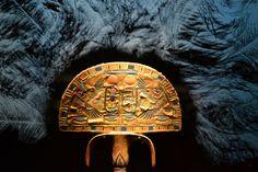 Ostrich fan from the tomb of Tutankhamun (wings of resurrection)