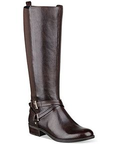 Tommmy Hilfiger Women's Sienna Tall Stretch Back Riding Boots - Boots - Shoes - Macy's
