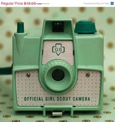 vintage camera print found at stoopidgerl on Etsy.