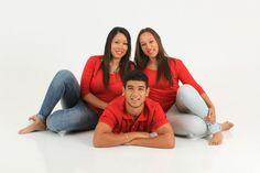 Fun family shoot with young adults in studio. » Digital Moment Photography Studio