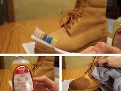 If you want to know the right way to clean suede Timberland boots in 6 easy steps, then check out this quick & informative guide. How To Clean Timberlands, Baby Timberlands, Clean Suede Boots, How To Clean Suede, Timberland Fold Down Boots, Diy Cleaning Products, Cleaning Hacks, Cool Experiments, Simple