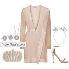 New Year's Eve by Blue Nile on Polyvore featuring Liliana, Santi, Blue Nile