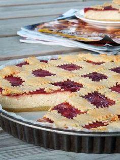 Live to Bake: Tvarohový mriežkový koláč Sweet Desserts, Sweet Recipes, Dessert Recipes, Baking Cupcakes, Cupcake Cakes, Czech Recipes, Dessert Bars, No Bake Cake, Food And Drink