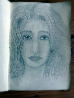 I tried to draw my sister...i think it's better than my last try to draw a portrait, but i still have a lot to learn...:)