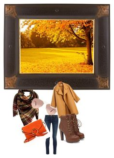 """""""Fall Fun"""" by ajrenae07 ❤ liked on Polyvore featuring Peach Couture, Ray-Ban, rag & bone, JustFab and Tory Burch"""