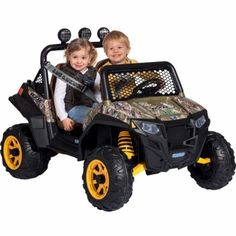 Kids Polaris RZR Mini-ATV 900, Camo, $399.99 YES!!!
