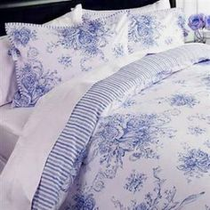 blue french country duvet covers - have you ever felt frustrated to think you found exactly what you are looking for but there is no link to purchase it.  *sigh I dislike shopping.