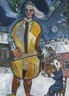 Le Violoncelliste (1939) - Marc Chagall