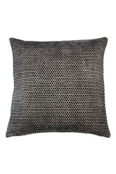 Large Textured Chenille Cushion