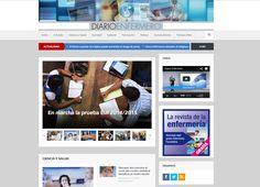 Echad un vistazo a Diario #Enfermero, nuevo portal de noticias de #enfermeria. #eSalud #eHealth #web