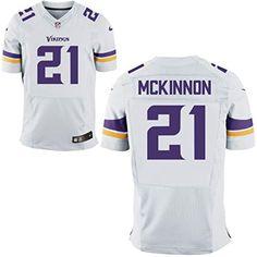 373e32228 21 Jerick McKinnon Jersey Mens American Football Jerseys White Size 44 -  Brought to you by. American Football JerseyMinnesota VikingsNfl ...