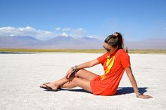 Soy Tendencia en Laguna Cejar San Pedro de Atacama, Chile