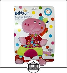 Doudou plana dinosaurio cocodrilo rosa verde Babysun Anillo Dentición  ✿ Regalos para recién nacidos - Bebes ✿ ▬► Ver oferta: http://comprar.io/goto/B01DUY1VLY