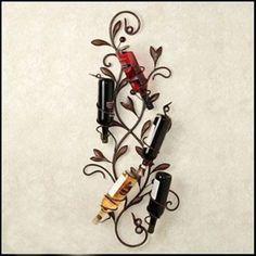 Goedkope creatieve smeedijzeren wand wijnrek muur opknoping wijnrek wijnfles bar houder voor home decor, koop Kwaliteit wijn rekken rechtstreeks van Leveranciers van China: creatieve ijzer wand wijnrek muuropknoping wijnrek wijnfles bar houder voor home decorGrootte: 30*80*11cmKleur: zwart, w