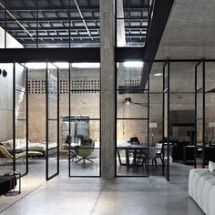 Israeli architect Pitsou Kedem has completed a showroom for furniture brand B&B Italia inside an industrial warehouse by the harbour in Tel Aviv. #showroom Repost from @dezeen .com #officespace #showroom #homesweethome #house #loft #luxurylife #lifestyle #dreambig #office #officedecor #officeinterior #officedesign #design #HomeDSGN #archidaily #architecture_magazine #architecturelovers #landscape #architecture #apartment #modernhome #luxuryhome #lifestyle #dreambig #home #id #interiors…