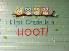 Kindergarten is a Hoot?! Owl Themed Classroom