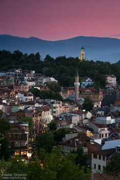cityscape | plovdiv, bulgaria This just melted my heart! I miss my hometown!