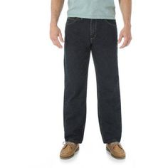 Wrangler Men's Relaxed Fit Jeans, Size: 34 x 29, Bronze