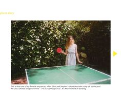 """photo by Sofia Coppola: behind the scenes of """"Somewhere"""""""
